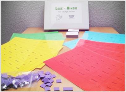 Lese-Bingo 100 häufige Wörter