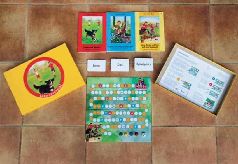Lese-Lernspiel - Das Würfelspiel zum Lesenlernen