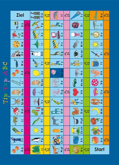 Tip Tap ABC - Das Buchstabenhüpfspiel